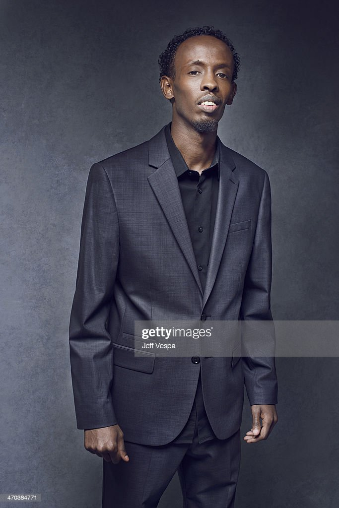 Actor <a gi-track='captionPersonalityLinkClicked' href=/galleries/search?phrase=Barkhad+Abdi&family=editorial&specificpeople=11418442 ng-click='$event.stopPropagation()'>Barkhad Abdi</a> is photographed or Self Assignment on February 10, 2014 in Beverly Hills, California.