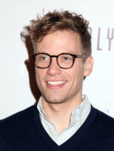 Actor Barrett Foa arrives at 'Tie The Knot' Store Grand Opening with founder Jesse Tyler Ferguson at The Beverly Center on December 5 2013 in Los...