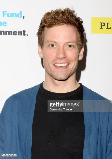 Actor Barrett Foa attends Concert for America Stand Up Sing Out at Royce Hall on May 24 2017 in Los Angeles California