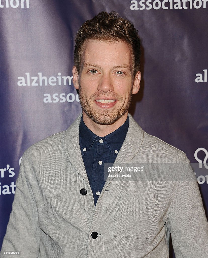 Actor Barrett Foa attends the 2016 Alzheimer's Association's 'A Night At Sardi's' at The Beverly Hilton Hotel on March 9, 2016 in Beverly Hills, California.