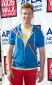 Actor Barrett Foa attends the 28th Annual AIDS Walk Los Angeles on October 14 2012 in West Hollywood California