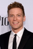 Actor Barrett Foa attends the 68th Annual Tony Awards at Radio City Music Hall on June 8 2014 in New York City