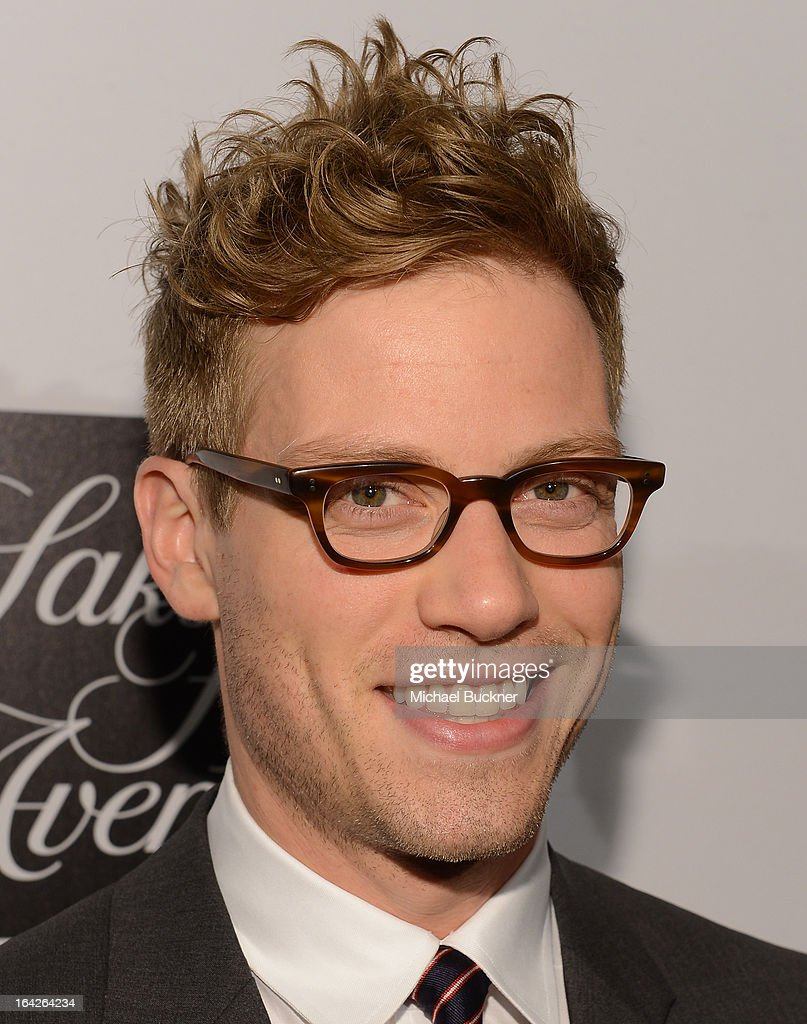 Actor Barrett Foa attends the 'Evening Benefitting The L.A. Gay & Lesbian Center Honoring Amy Pascal and Ralph Rucci' at the Beverly Wilshire Four Seasons Hotel on March 21, 2013 in Beverly Hills, California.