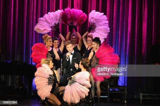 Actor Barrett Foa attends The National Breast Cancer Coalition Fund presents The 13th Annual Les Girls at the Avalon on October 7 2013 in Hollywood...