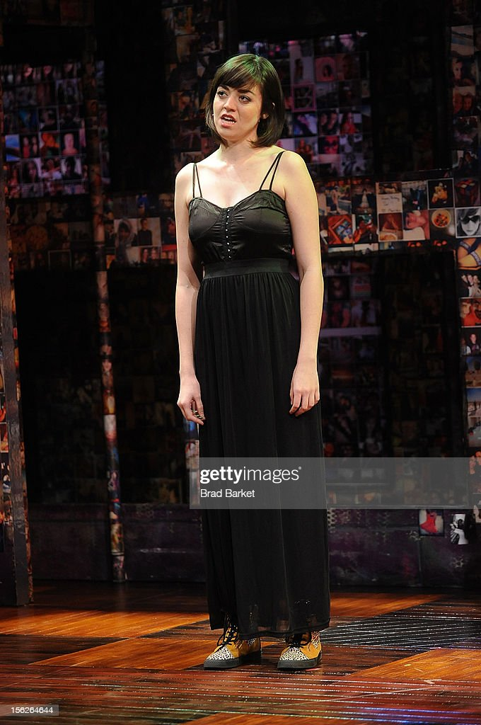 Actor Barrett Wilbert Weed attends the 'Bare' Press Rehearsal at New World Stages on November 12, 2012 in New York City.
