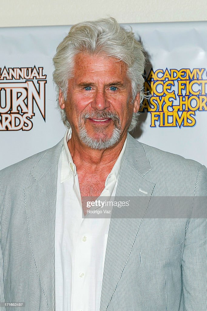 Actor <a gi-track='captionPersonalityLinkClicked' href=/galleries/search?phrase=Barry+Bostwick&family=editorial&specificpeople=227403 ng-click='$event.stopPropagation()'>Barry Bostwick</a> attends the 39th Annual Saturn Awards at The Castaway on June 26, 2013 in Burbank, California.