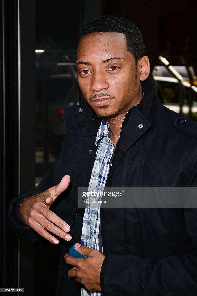 Actor Barry Floyd leaves his Midtown Manhattan hotel on March 27, 2013 in New York City.