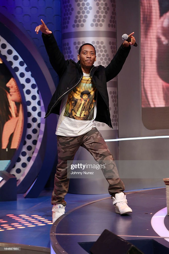 Actor Barry Floyd visits BET's '106 & Park' at BET Studios on March 26, 2013, in New York City.