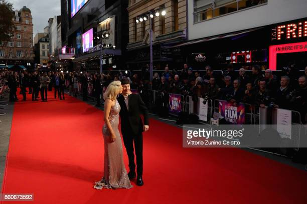 Actor Barry Keoghan and girlfriend Shona Guerin attend the Headline Gala Screening UK Premiere of 'Killing of a Sacred Deer' during the 61st BFI...