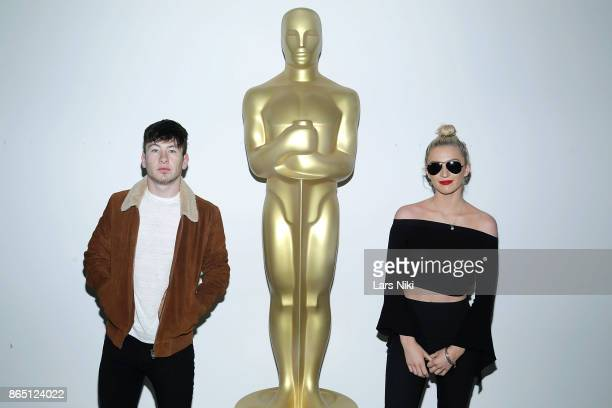 Actor Barry Keoghan and Shona Guerin attend The Academy of Motion Picture Arts Sciences official academy screening of 'The Killing of a Sacred Deer'...