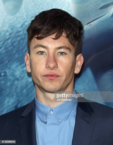 Actor Barry Keoghan attends the 'DUNKIRK' New York premiere at AMC Lincoln Square IMAX on July 18 2017 in New York City