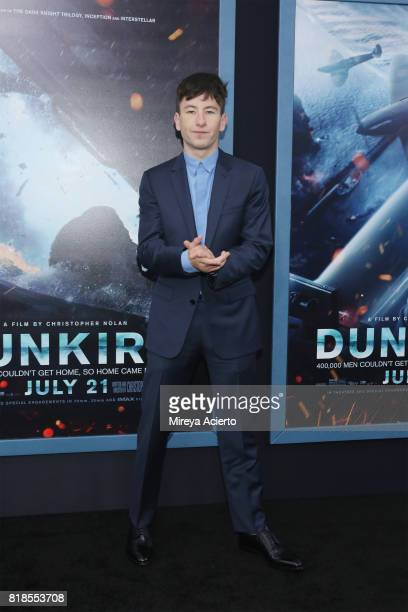 Actor Barry Keoghan attends the 'DUNKIRK' New York Premiere on July 18 2017 in New York City