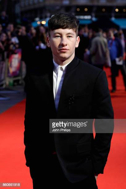 Actor Barry Keoghan attends the Headline Gala Screening UK Premiere of 'Killing of a Sacred Deer' during the 61st BFI London Film Festival on October...