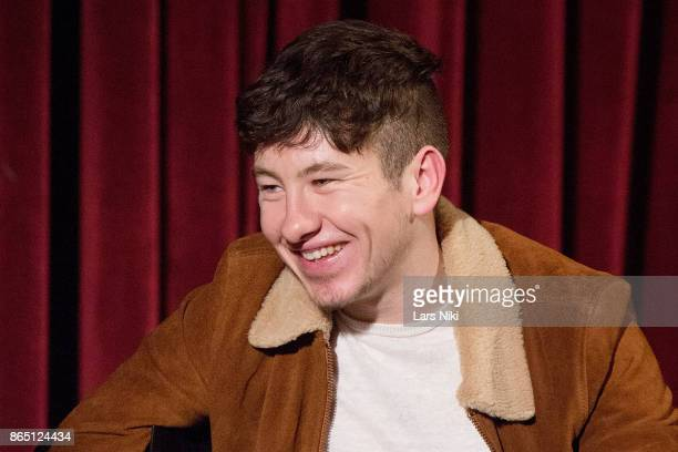 Actor Barry Keoghan on stage during The Academy of Motion Picture Arts Sciences official academy screening of 'The Killing of a Sacred Deer' at the...