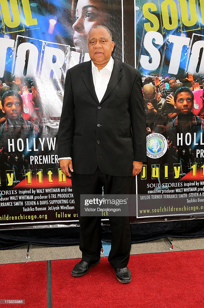 Actor Barry Shabaka Henley arrives for the premiere of 'Soul Stories' on July 11 2013 in Los Angeles California