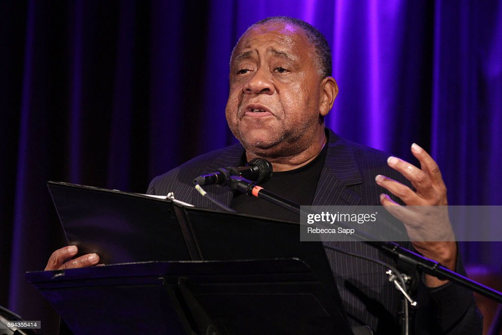 Actor Barry Shabaka Henley performs at A Tribute To Langston Hughes Stories Poems Jazz The Blues Presented by the GRAMMY Museum and WordTheatre at...