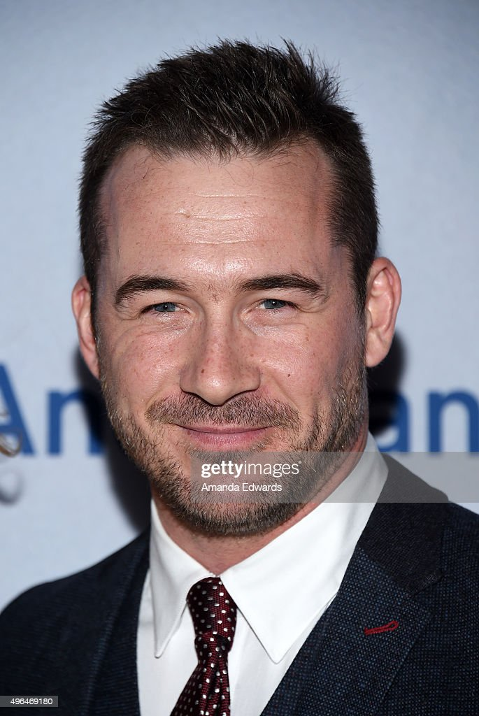 Actor <a gi-track='captionPersonalityLinkClicked' href=/galleries/search?phrase=Barry+Sloane&family=editorial&specificpeople=1892156 ng-click='$event.stopPropagation()'>Barry Sloane</a> arrives at the premiere of National Geographic Channel's 'Saints And Strangers' at the Saban Theatre on November 9, 2015 in Beverly Hills, California.