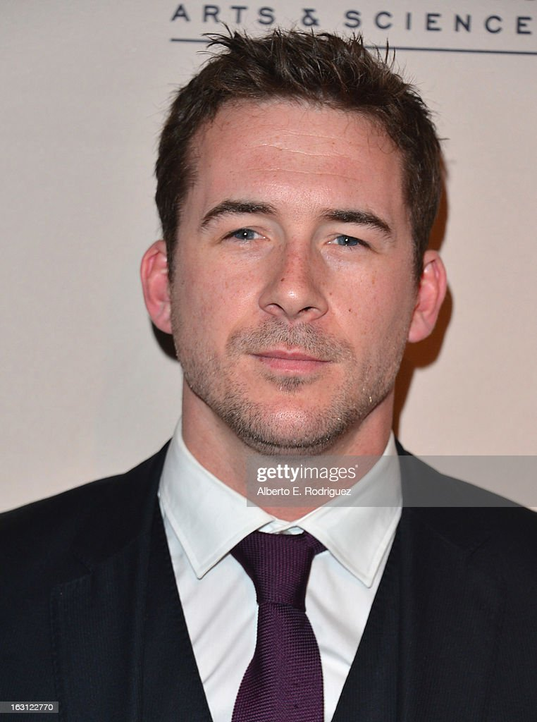 Actor Barry Sloane arrives to the Academy of Television Arts and Sciences' An Evening with 'Revenge' at Leonard H. Goldenson Theatre on March 4, 2013 in North Hollywood, California.