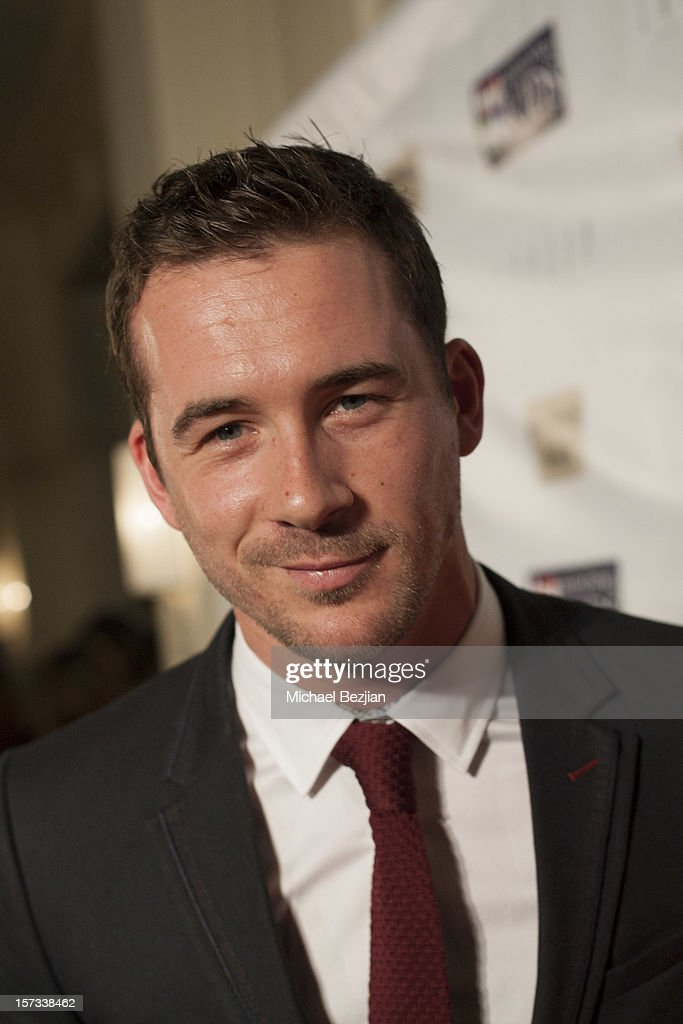 Actor Barry Sloane attends Mending Kids International Celebrity Poker Tournament - Red Carpet at The London Hotel on December 1, 2012 in West Hollywood, California.