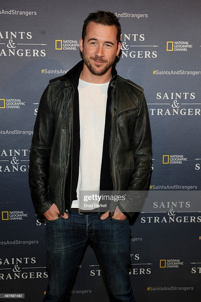 Actor <a gi-track='captionPersonalityLinkClicked' href=/galleries/search?phrase=Barry+Sloane&family=editorial&specificpeople=1892156 ng-click='$event.stopPropagation()'>Barry Sloane</a> attends National Geographic Channel's Saints & Strangers Pub 1620 Opening Event at Flatiron Hall on November 17, 2015 in New York City.