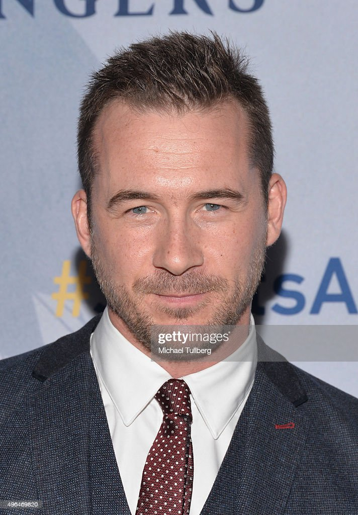 Actor <a gi-track='captionPersonalityLinkClicked' href=/galleries/search?phrase=Barry+Sloane&family=editorial&specificpeople=1892156 ng-click='$event.stopPropagation()'>Barry Sloane</a> attends the premiere of National Geographic Channel's 'Saints And Strangers' at Saban Theatre on November 9, 2015 in Beverly Hills, California.