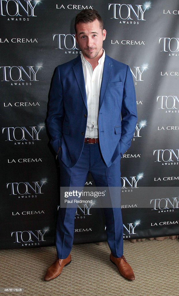 Actor <a gi-track='captionPersonalityLinkClicked' href=/galleries/search?phrase=Barry+Sloane&family=editorial&specificpeople=1892156 ng-click='$event.stopPropagation()'>Barry Sloane</a> attends The Tony Awards Celebrate Broadway In Hollywood at Sunset Tower on March 25, 2015 in West Hollywood, California.