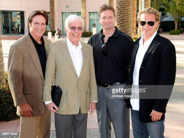 Actor Barry Van Dyke Actor Dick Van Dyke Carey Van Dyke and Shane Van Dyke arrive at the Academy of Television Arts Sciences' 'A Father's Day Salute...