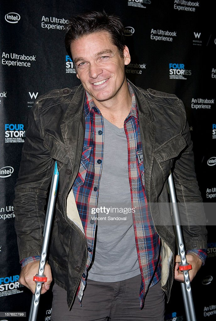 Actor Bart Johnson attends the Los Angeles Premiere of 'Four Stories' at W Westwood on December 4, 2012 in Westwood, California.
