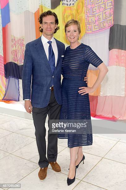 Actor Bart Sidles and Sara Fitzmaurice attend the Hammer Museum's 12th annual Gala in the Garden with generous support from Bottega Veneta at the...