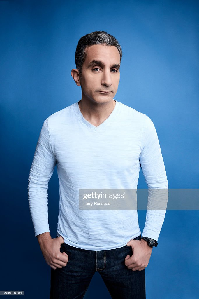 Actor <a gi-track='captionPersonalityLinkClicked' href=/galleries/search?phrase=Bassem+Youssef&family=editorial&specificpeople=9660617 ng-click='$event.stopPropagation()'>Bassem Youssef</a> poses for a portrait at the Tribeca Film Festival on April 17, 2016 in New York City.