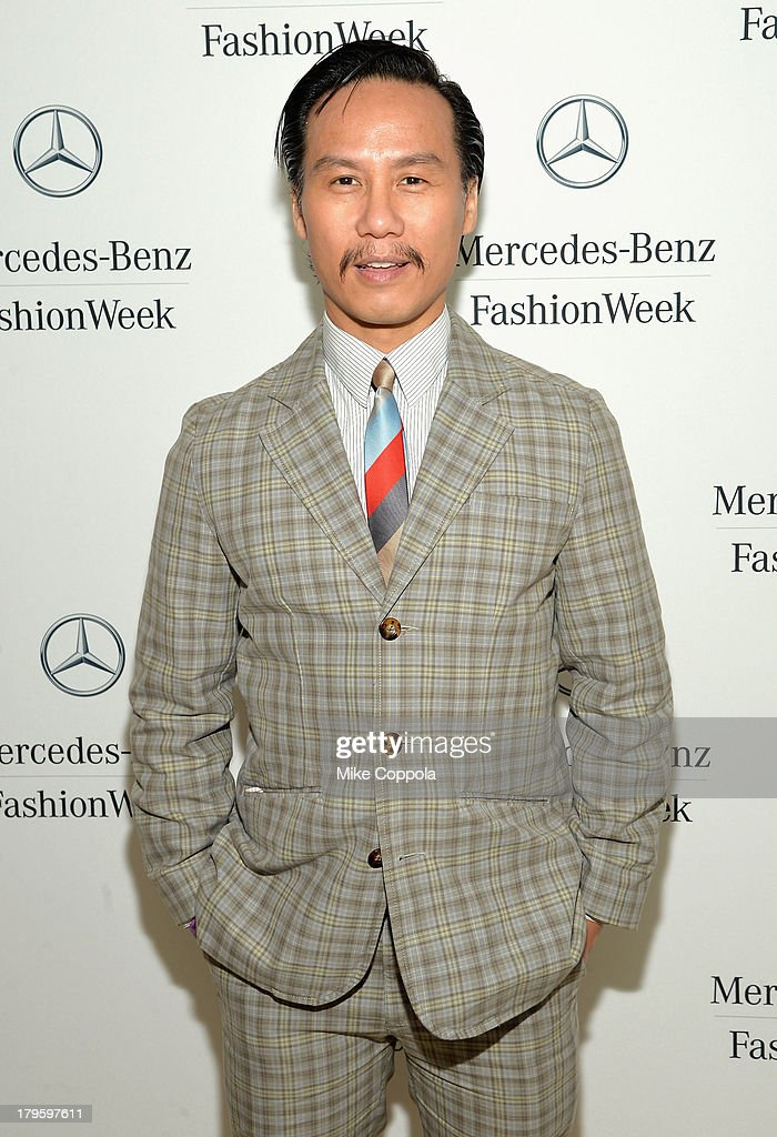Actor BD Wong attends the Mercedes-Benz Star Lounge during Mercedes-Benz Fashion Week Spring 2014 at Lincoln Center on September 5, 2013 in New York City.