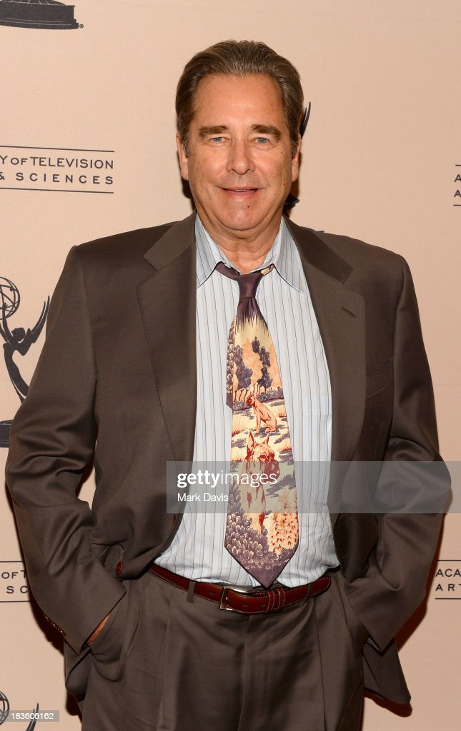 Actor <a gi-track='captionPersonalityLinkClicked' href=/galleries/search?phrase=Beau+Bridges&family=editorial&specificpeople=214546 ng-click='$event.stopPropagation()'>Beau Bridges</a> attends The Academy Of Television Arts & Sciences' Presents An Evening Honoring James Burrows held at the Academy of Television Arts & Sciences on October 7, 2013 in North Hollywood, California.