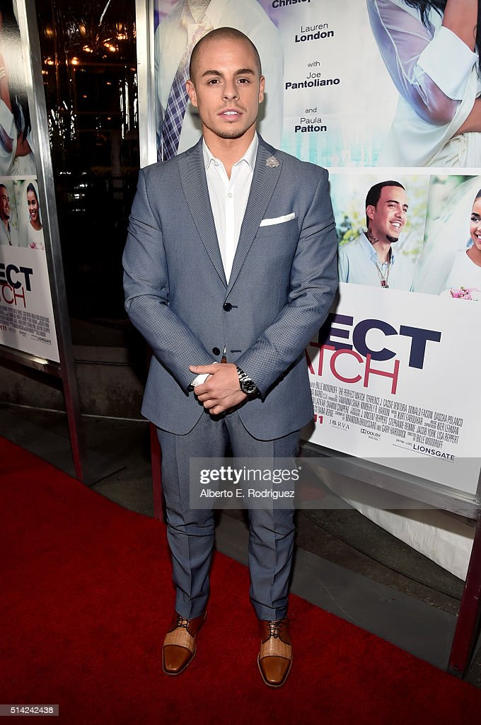 Actor Beau Casper Smart attends the premiere of Lionsgate's 'The Perfect Match' at ArcLight Hollywood on March 7, 2016 in Hollywood, California.