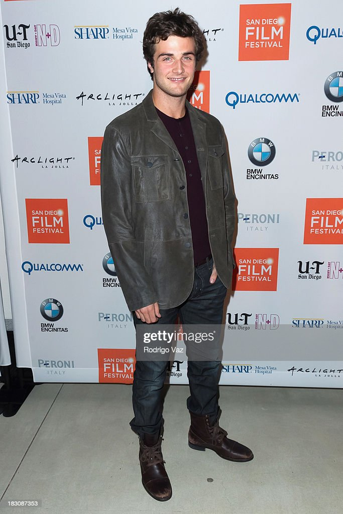 Actor <a gi-track='captionPersonalityLinkClicked' href=/galleries/search?phrase=Beau+Mirchoff&family=editorial&specificpeople=693607 ng-click='$event.stopPropagation()'>Beau Mirchoff</a> arrives at San Diego Film Festival's tribute to honor Judd Apatow at Museum of Contemporary Art on October 3, 2013 in La Jolla, California.