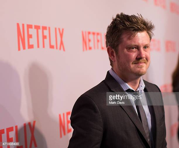 Actor Beau Willimon arrives at Netflix's 'House Of Cards' QA screening event held at the Samuel Goldwyn Theater on April 27 2015 in Beverly Hills...