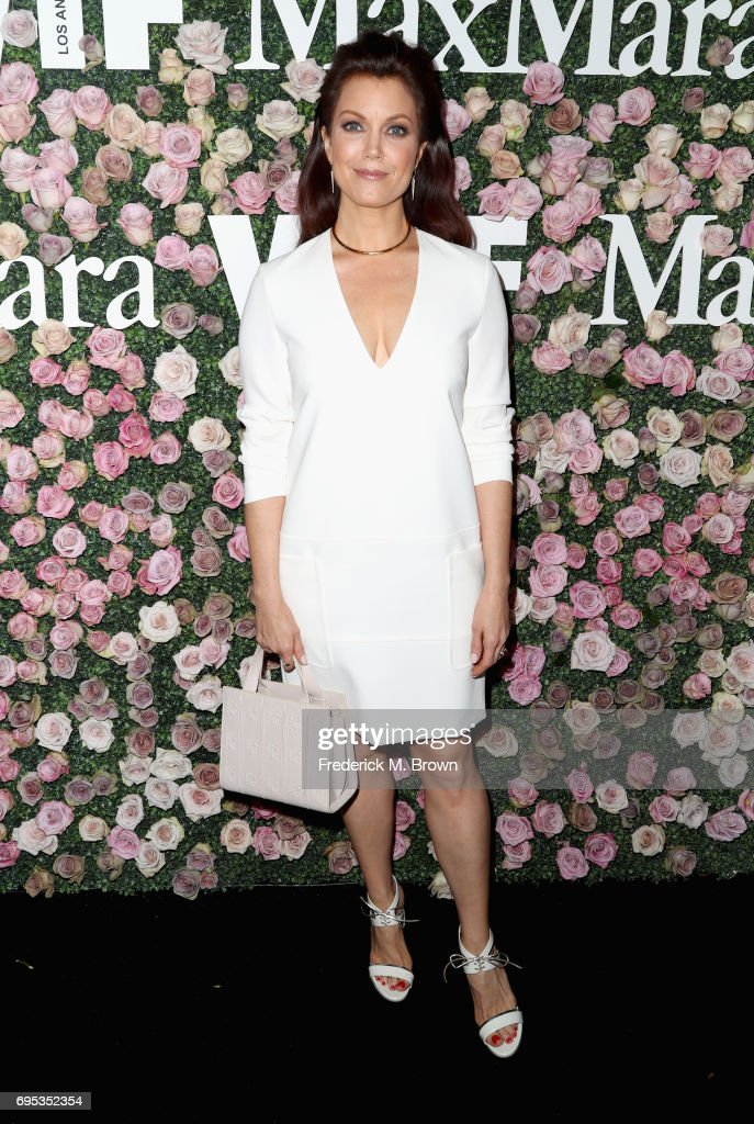 Actor Bellamy Young attends Max Mara Celebration of Zoey Deutch as The 2017 Women In Film Max Mara Face of The Future Award Recipient at Chateau Marmont on June 12, 2017 in Los Angeles, California.