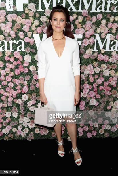 Actor Bellamy Young attends Max Mara Celebration of Zoey Deutch as The 2017 Women In Film Max Mara Face of The Future Award Recipient at Chateau...