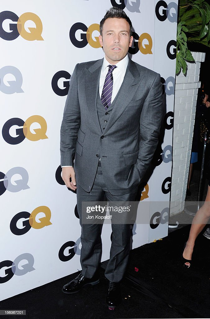 Actor Ben Affleck arrives at GQ Men Of The Year Party at Chateau Marmont on November 13, 2012 in Los Angeles, California.