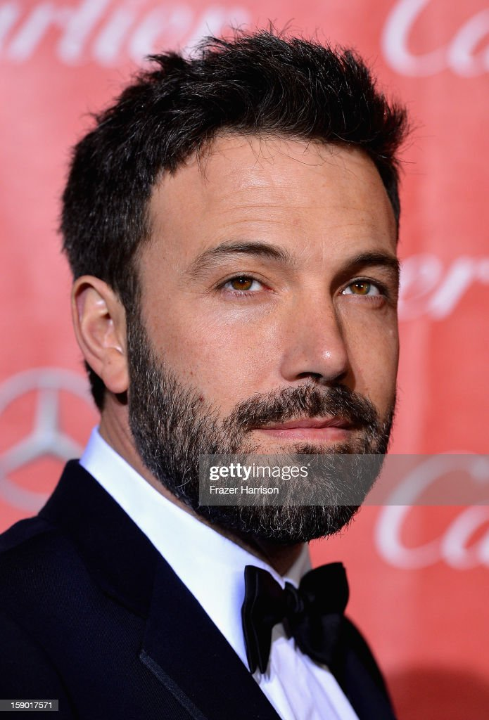 Actor <a gi-track='captionPersonalityLinkClicked' href=/galleries/search?phrase=Ben+Affleck&family=editorial&specificpeople=201856 ng-click='$event.stopPropagation()'>Ben Affleck</a> arrives at The 24th Annual Palm Springs International Film Festival Awards Gala on January 5, 2013 in Palm Springs, California.