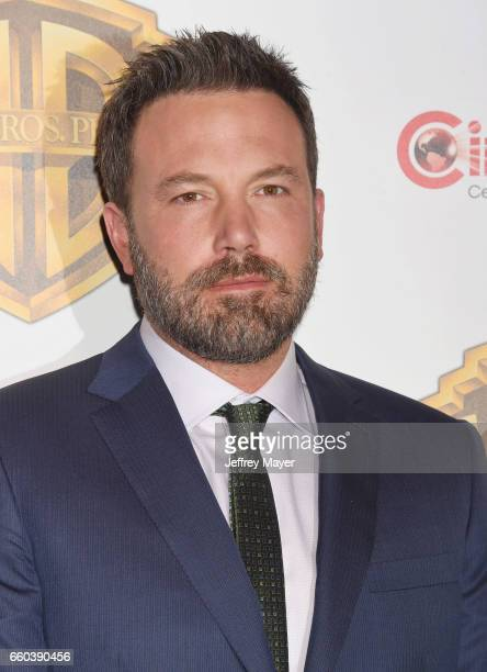 Actor Ben Affleck arrives at the CinemaCon 2017 Warner Bros Pictures presentation of their upcoming slate of films at The Colosseum at Caesars Palace...