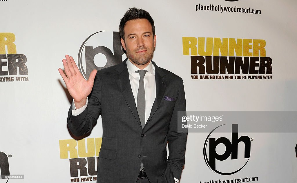 Actor Ben Affleck arrives at the world premiere of Twentieth Century Fox and New Regency's film 'Runner Runner' at Planet Hollywood Resort & Casino on September 18, 2013 in Las Vegas, Nevada.