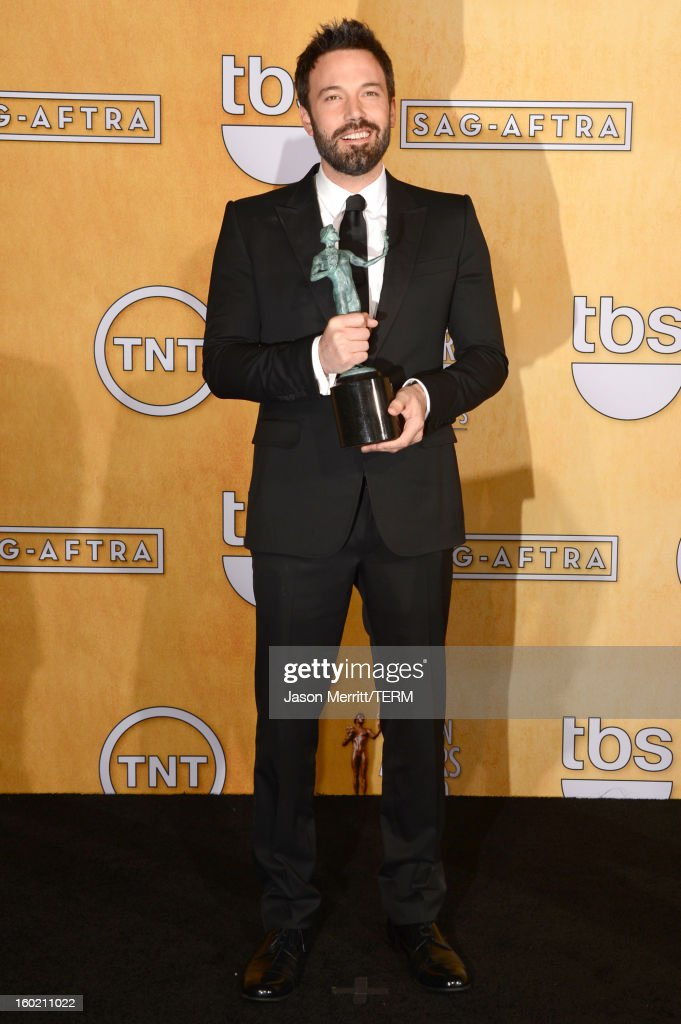Actor <a gi-track='captionPersonalityLinkClicked' href=/galleries/search?phrase=Ben+Affleck&family=editorial&specificpeople=201856 ng-click='$event.stopPropagation()'>Ben Affleck</a> attends the 19th Annual Screen Actors Guild Awards at The Shrine Auditorium on January 27, 2013 in Los Angeles, California. (Photo by Jason Merritt/WireImage) 23116_014_3391.jpg