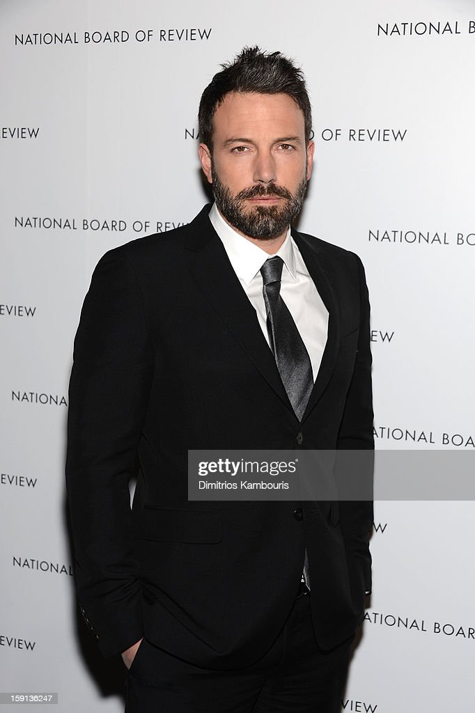 Actor <a gi-track='captionPersonalityLinkClicked' href=/galleries/search?phrase=Ben+Affleck&family=editorial&specificpeople=201856 ng-click='$event.stopPropagation()'>Ben Affleck</a> attends the 2013 National Board Of Review Awards Gala at Cipriani 42nd Street on January 8, 2013 in New York City.