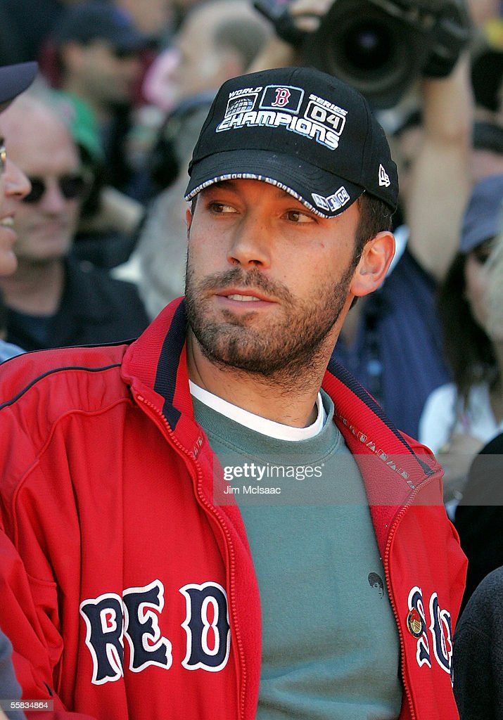 Actor Ben Affleck attends the game between the Boston Red Sox and the New York Yankees at Fenway Park on October 1 2005 in Boston Massachusetts