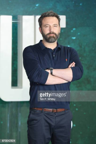 Actor Ben Affleck attends the 'Justice League' photocall at The College on November 4 2017 in London England