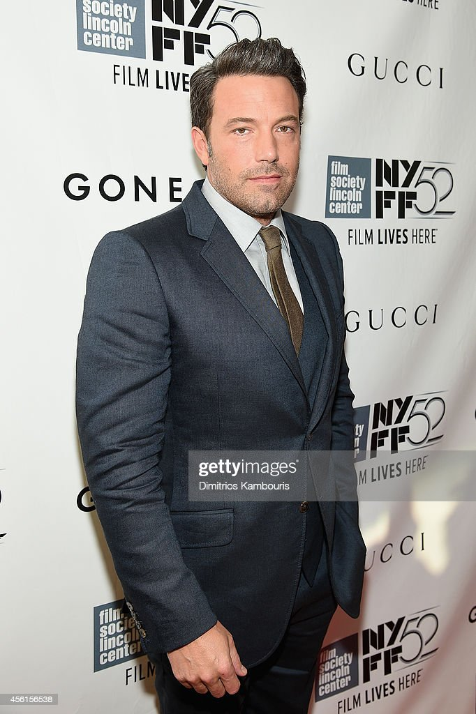 Actor <a gi-track='captionPersonalityLinkClicked' href=/galleries/search?phrase=Ben+Affleck&family=editorial&specificpeople=201856 ng-click='$event.stopPropagation()'>Ben Affleck</a> attends the Opening Night Gala Presentation and World Premiere of 'Gone Girl' during the 52nd New York Film Festival at Alice Tully Hall on September 26, 2014 in New York City.
