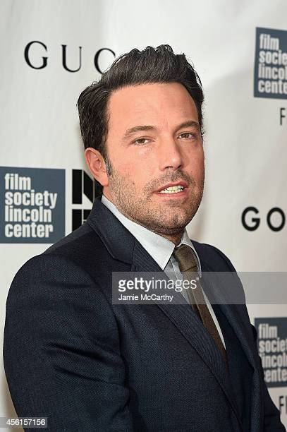 Actor Ben Affleck attends the Opening Night Gala Presentation and World Premiere of 'Gone Girl' during the 52nd New York Film Festival at Alice Tully...