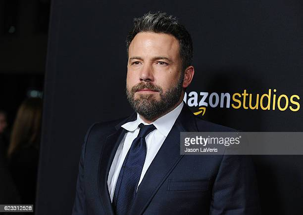 Actor Ben Affleck attends the premiere of 'Manchester by the Sea' at Samuel Goldwyn Theater on November 14 2016 in Beverly Hills California