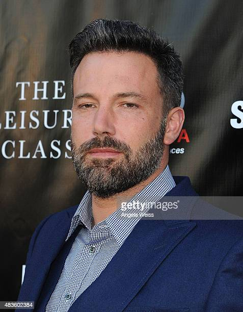 Actor Ben Affleck attends the Project Greenlight Season 4 Winning Film premiere 'The Leisure Class' presented by Matt Damon Ben Affleck Adaptive...
