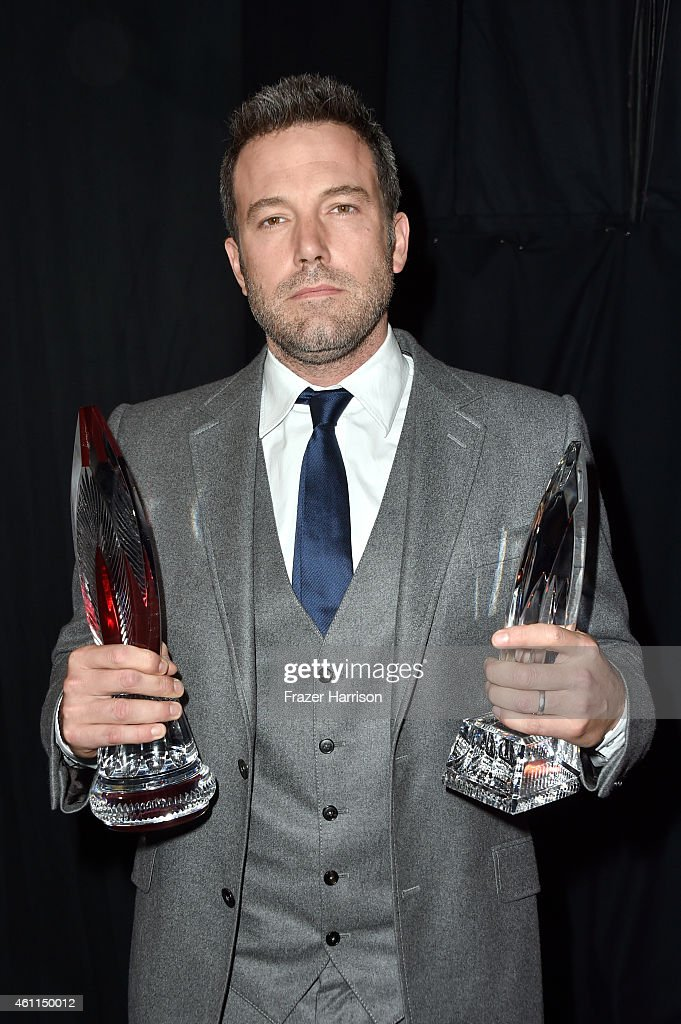 Actor <a gi-track='captionPersonalityLinkClicked' href=/galleries/search?phrase=Ben+Affleck&family=editorial&specificpeople=201856 ng-click='$event.stopPropagation()'>Ben Affleck</a> attends the The 41st Annual People's Choice Awards at Nokia Theatre LA Live on January 7, 2015 in Los Angeles, California.